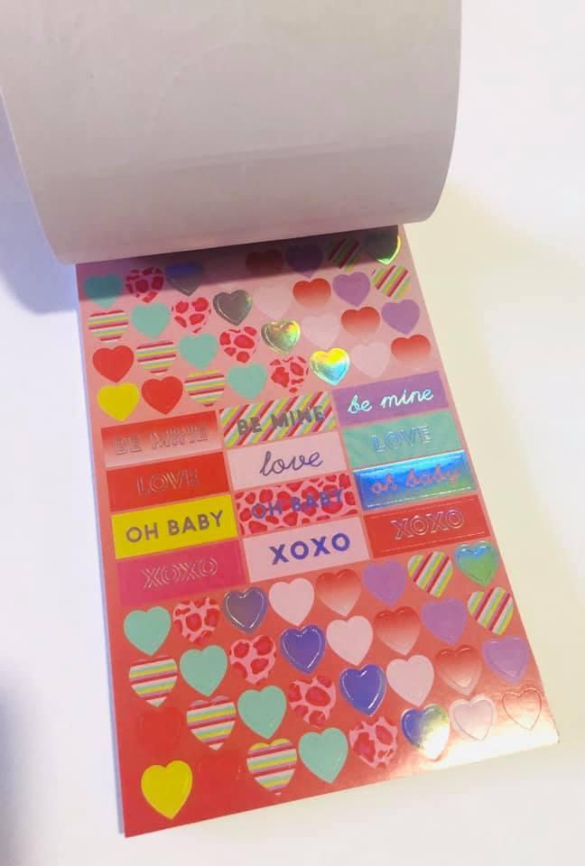 Sticker Book Love Oncinha