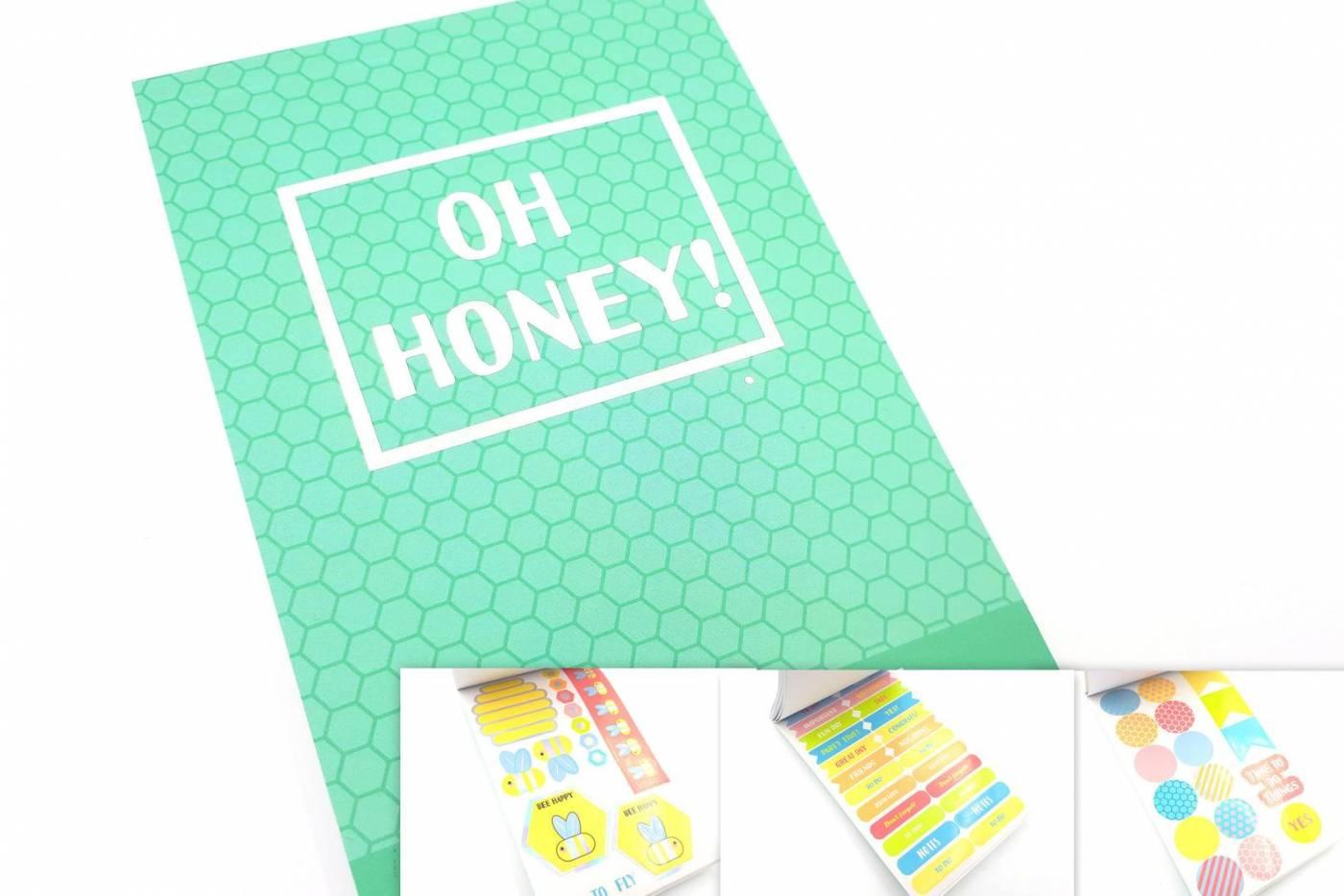 Sticker Book Verde