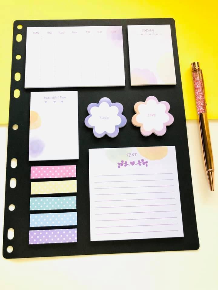 Sticky Notes Flower A4
