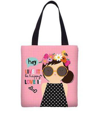 Tote Bag Happy Hey