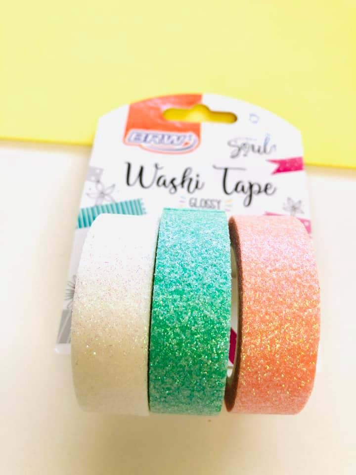 Washi tape Brilhante 3 un