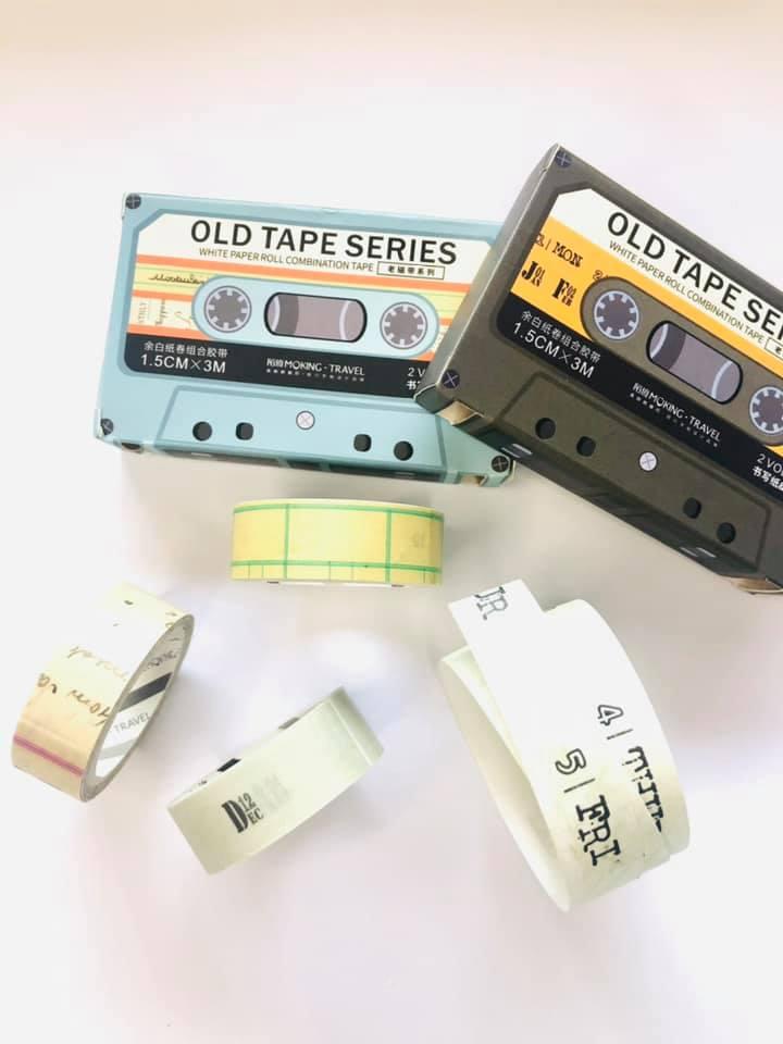 Washi Tape Fita Cassete
