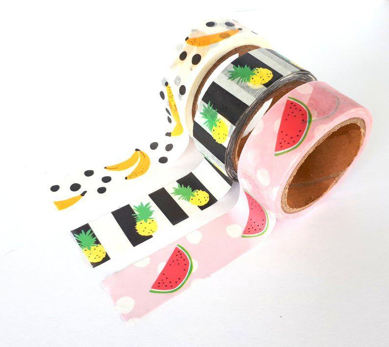 Washi Tape Fruit 3 un