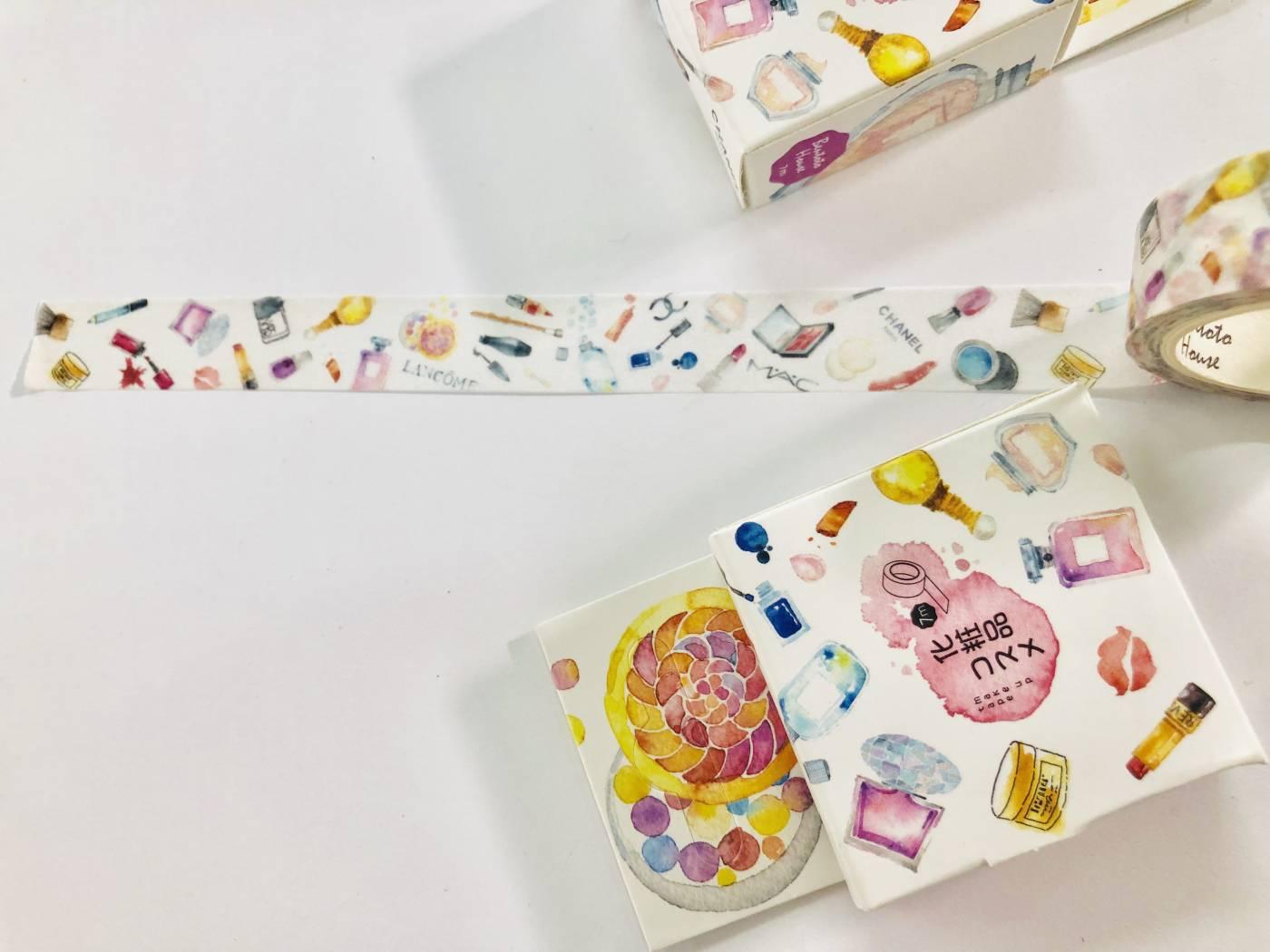 Washi Tape Maquiagem de Luxo
