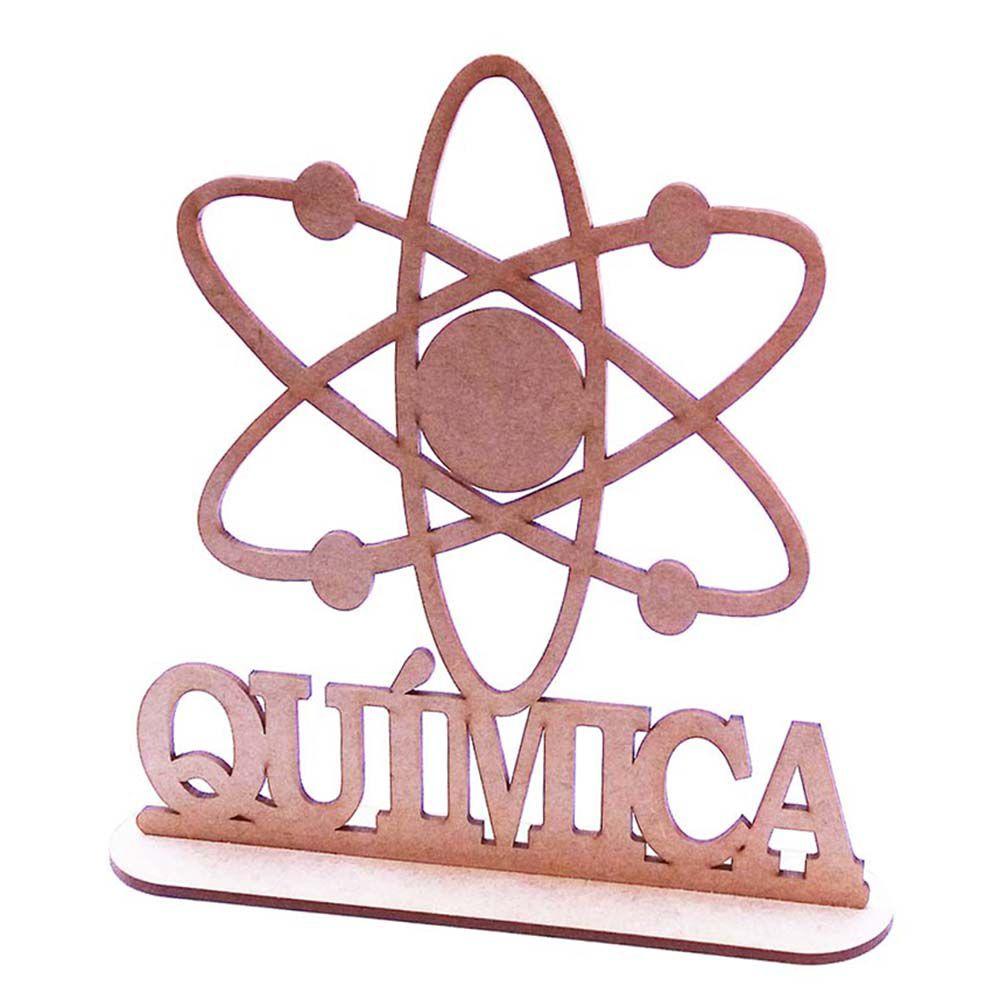 Kit 10 Centro mesa 20cm formatura curso profissão Química