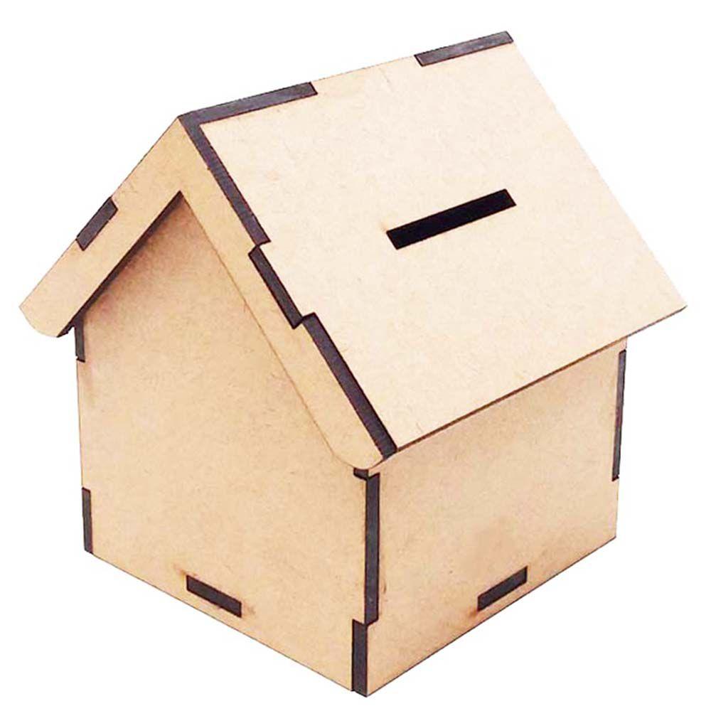 Kit 10 mini casinha cofrinho 8 x 10cm cofre lembrança festa