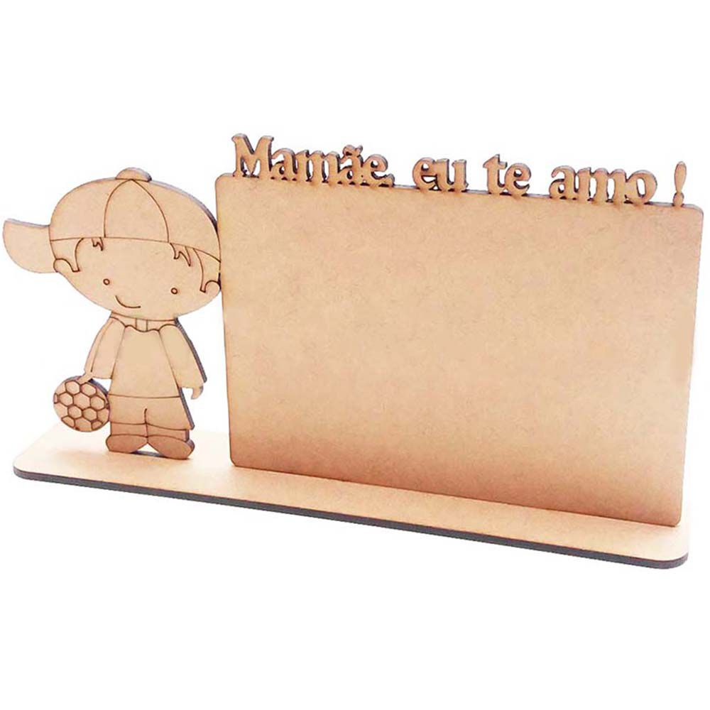 Kit 10 Placa mdf 10x15 hz menino mamãe te amo dia das mães