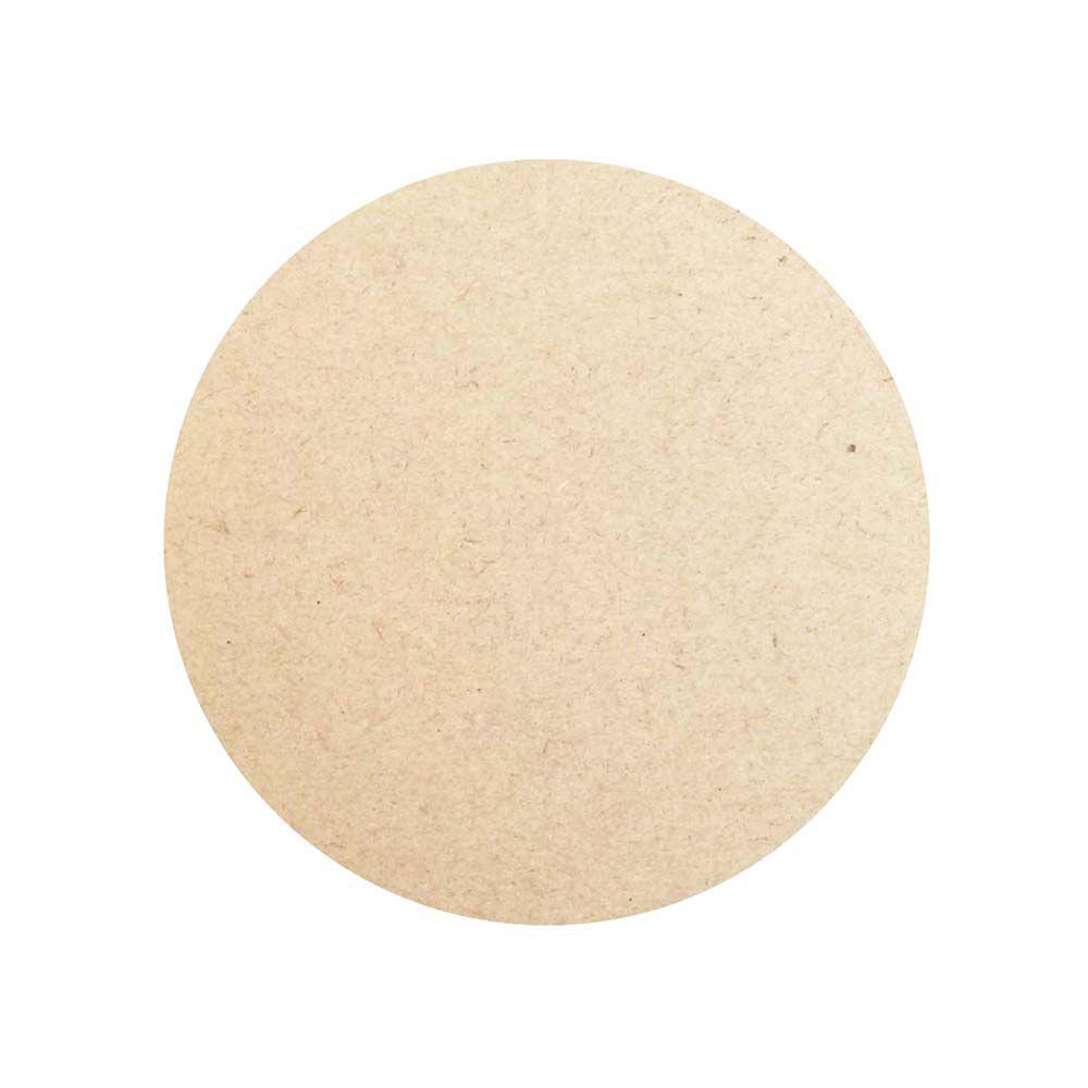 Kit 50 placa redonda circulo disco mdf 7,5cm base fundo arte