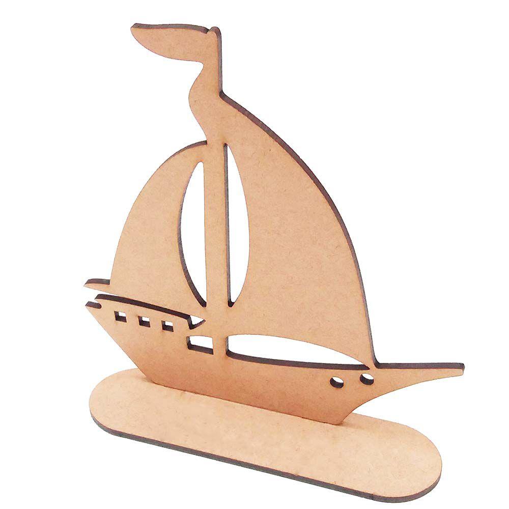 Kit 5 Barco barquinho 20 cm marinheiro festa aniversário