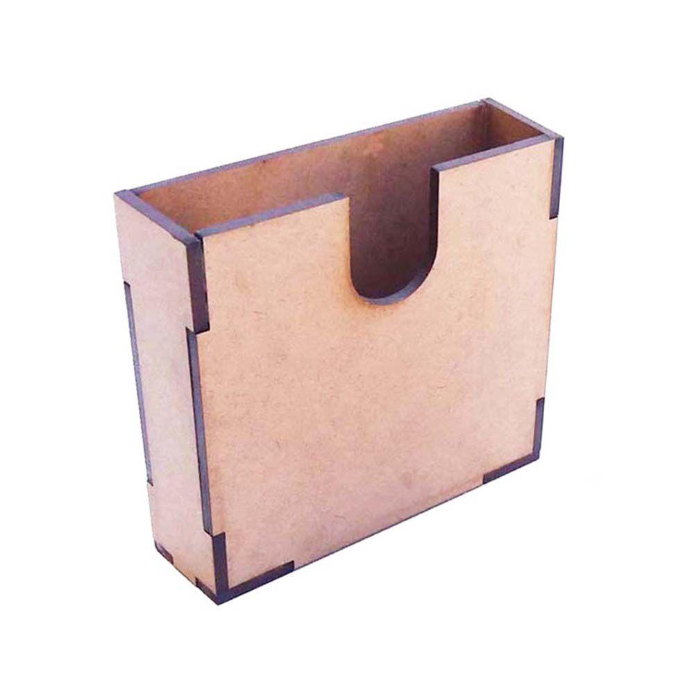 Kit 5 Caixa caixinha mdf 10 cm  bolacha porta copo cartão