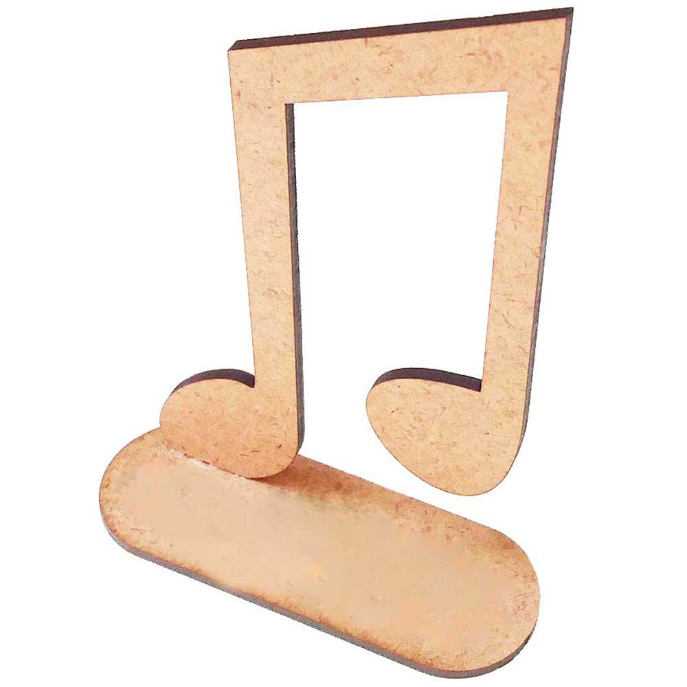 Kit 5 nota musical mdf 15 cm mod1 lembrancinha festa musica