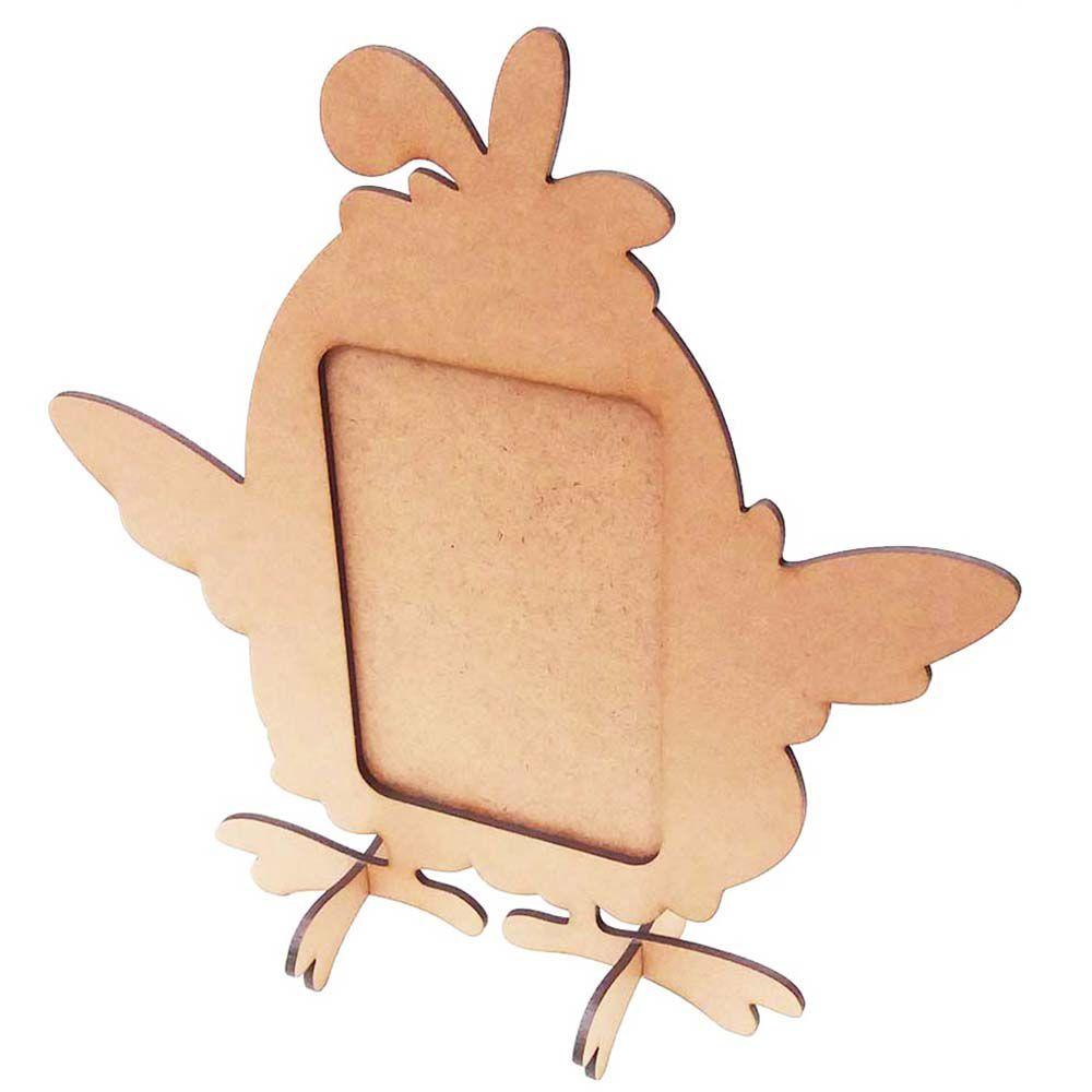 Mini Porta retrato mdf foto 7x10 festa galinha pintadinha