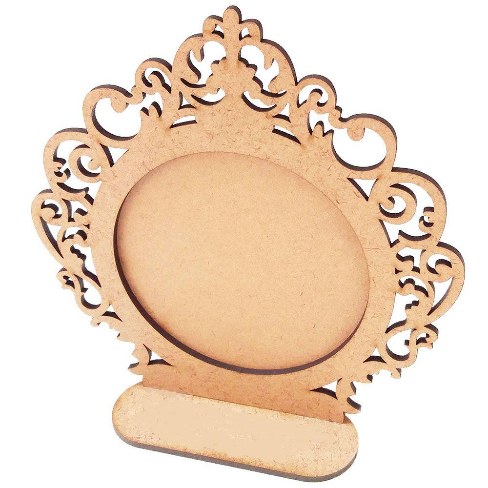 Moldura mdf 15 cm espelho centro de mesa foto festa m2