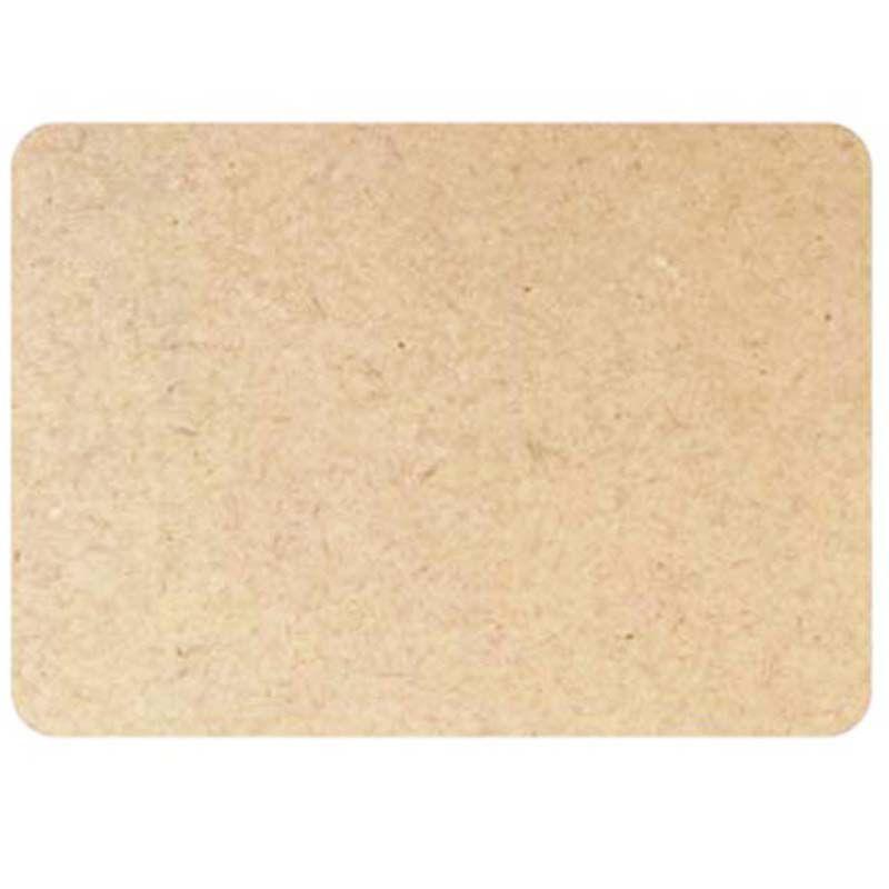 Placa retangular 40 x 30 cm quadro jogo americano sousplat