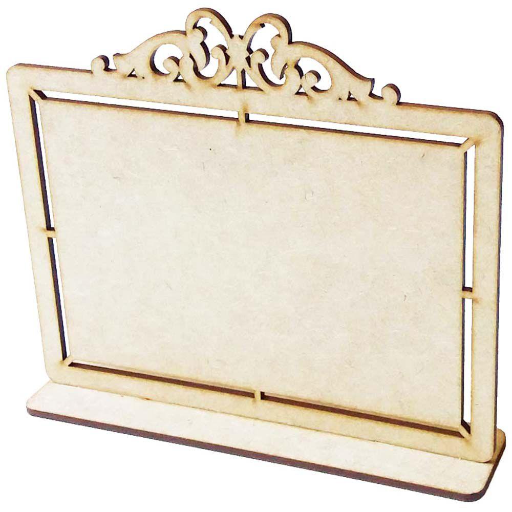 Porta foto 10x15 placa mdf provençal homenagem lembrancinha
