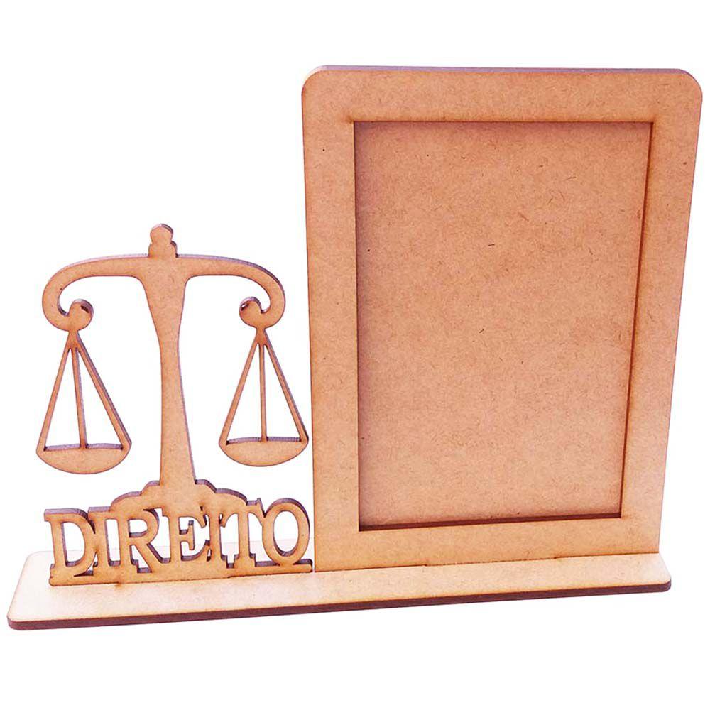 Porta foto retrato profissões formatura profissão Direito
