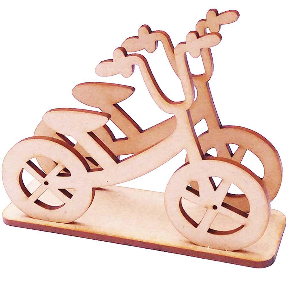 Porta guardanapo mdf bicicleta festa brinquedos transporte