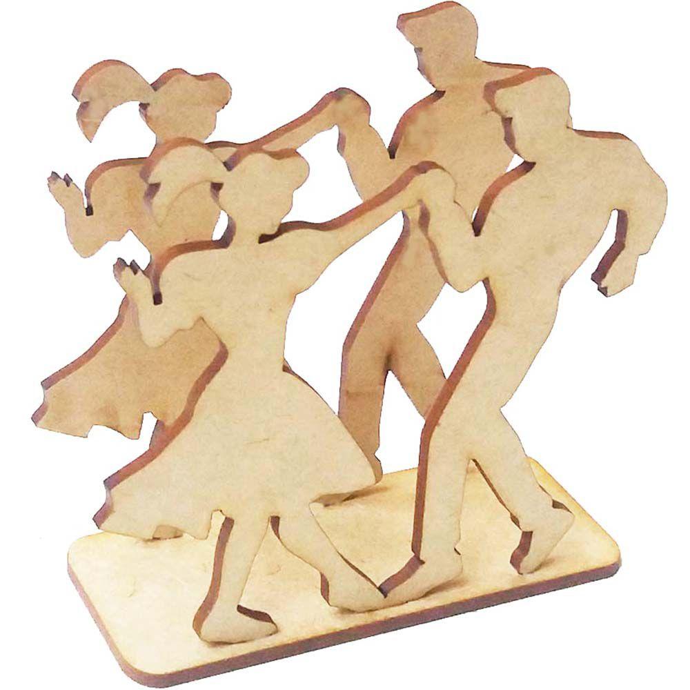 Porta guardanapo mdf casal dançante dançarino festa anos 60