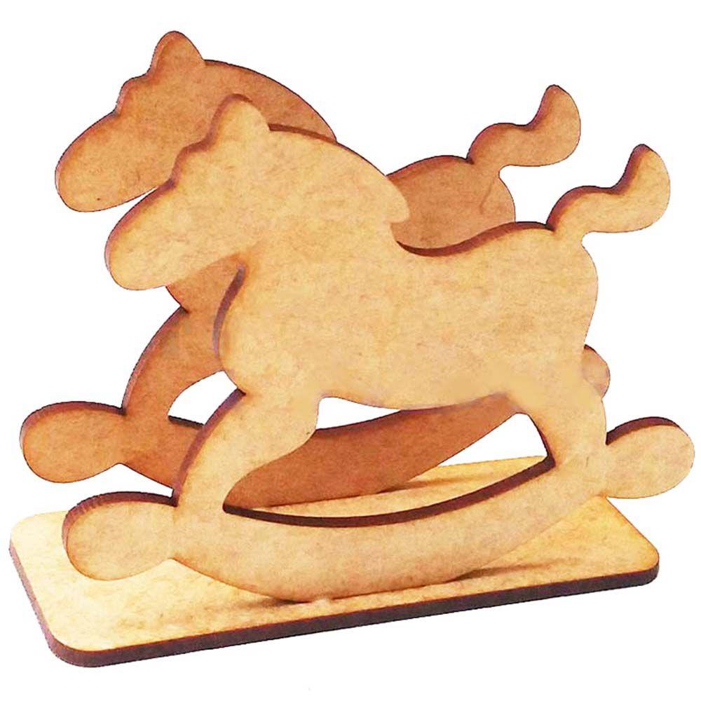 Porta guardanapo mdf cavalinho de balanço festa circo parque