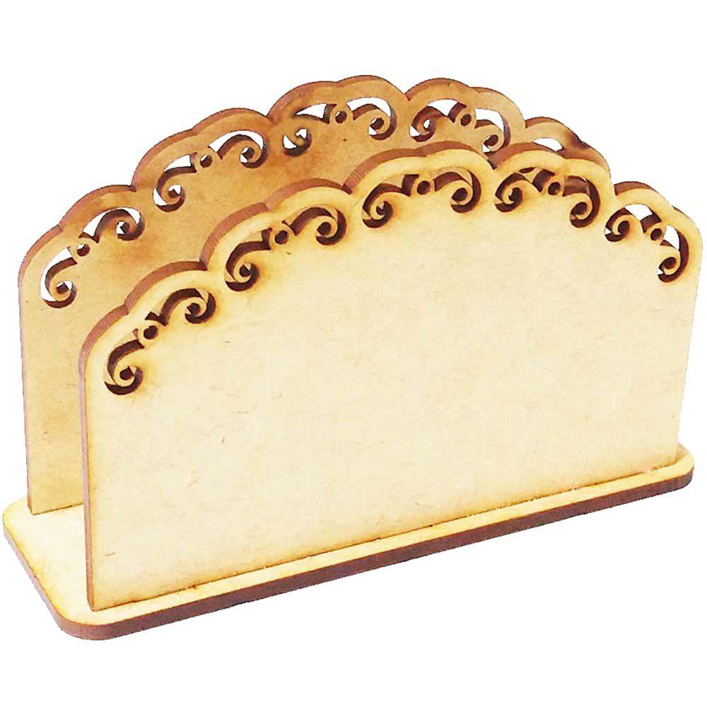 Porta guardanapo mdf provençal borda arabesco festa decoração
