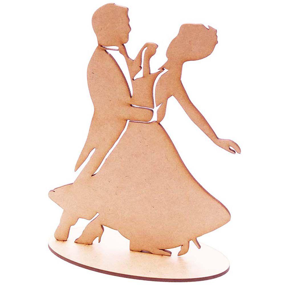 Totem centro mesa 20cm casal dançante m2 festa anos 60 dança
