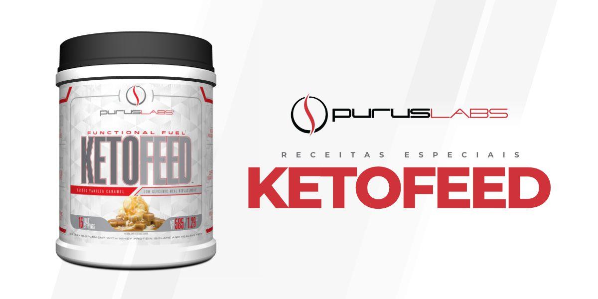 Compre Ketofeed e Ganhe E-book Receitas + Sacola Esportiva