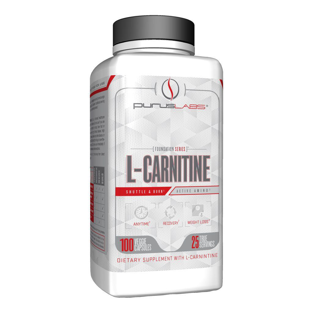 L-Carnitina + L-Tartarato importada - 100 cápsulas