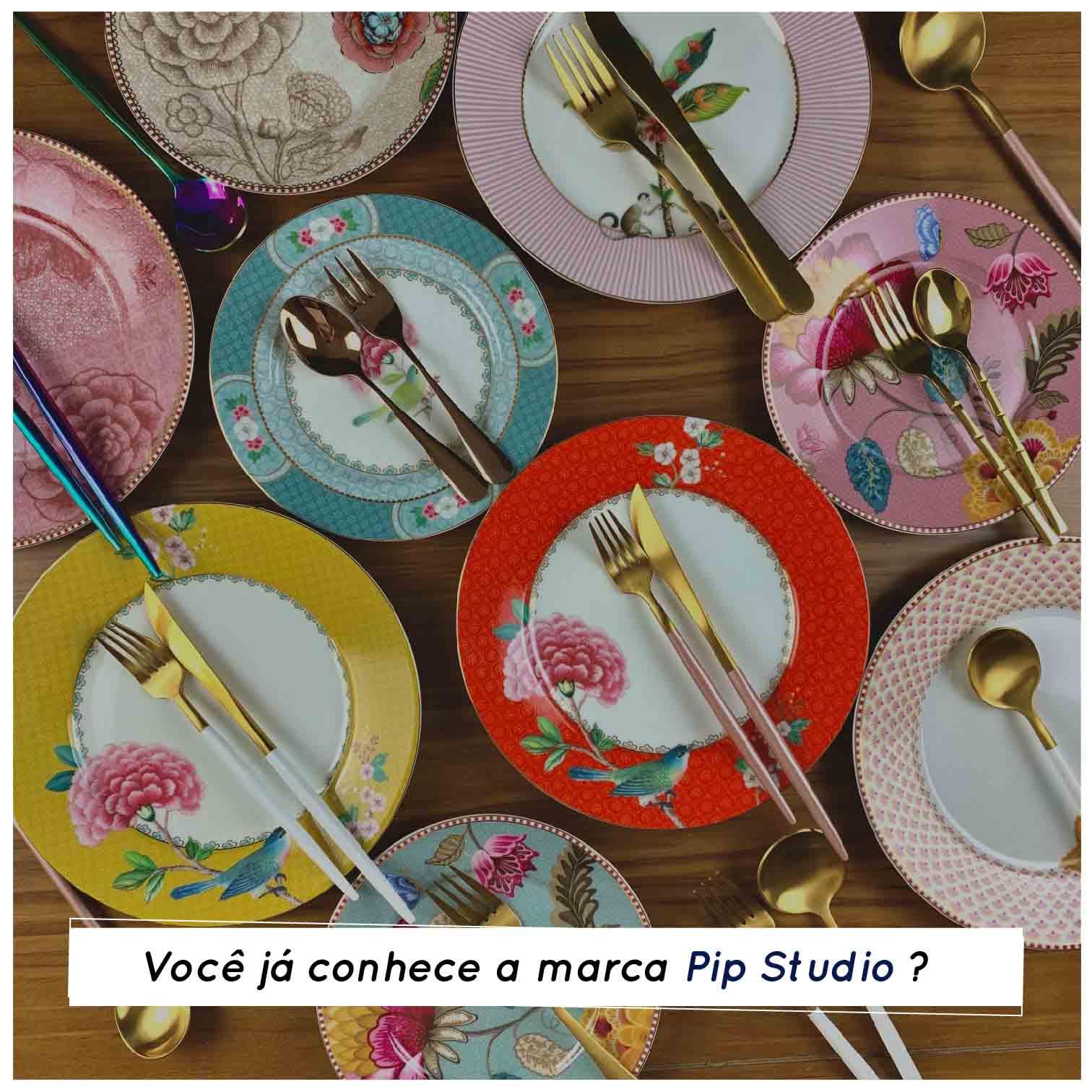 você conhece as louças da pip studio: