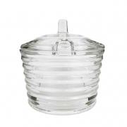 Açucareiro Cristal Stripes,  250g, 10 cm