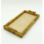 Bandeja Bambu  c/Palhinha