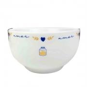 Bowl 400ml em porcelana, coleção exclusiva Poções de Amor