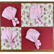 Box Mesa Posta Floral Rosa c/12 peças p/ 4 lugares