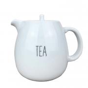 Bule Tea em Porcelana 500 ml Coleção exclusiva Lettering