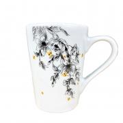 Caneca em porcelana, 225 ml, coleção exclusiva Garden Bee