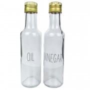 Garrafinhas Galheteiro Oil & Vinegar 280ml cada