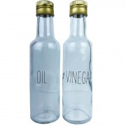 Garrafinhas Galheteiro Oil & Vinegar 280ml