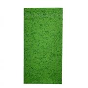Jogo c/ 2 Guardanapos Duplos 100% algodão Acabamento Bordado Verde Mescla 43cm