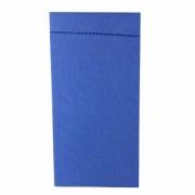 Jogo c/ 2 Guardanapos Percal c/ponto ajour, 100% algodão, Azul Céu