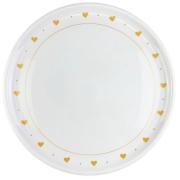 Jogo c/ 2 Pratos Rasos Flat Porcelana 26cm Coleção Exclusiva Golden Mary