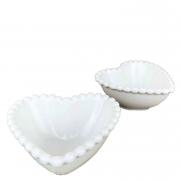 Jogo c/2 Mini Bowls Dots em Porcelana, 7 cm