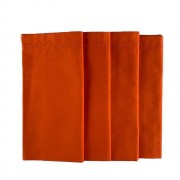Jogo com 4 Guardanapos Orange duplos