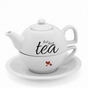 Jogo para Chá But First Tea 600 ml