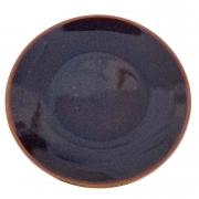 Prato de Sobremesa, 21 cm, Porcelana Azul Glaze