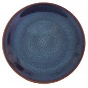 Prato Raso, 27 cm, Porcelana Azul Glaze