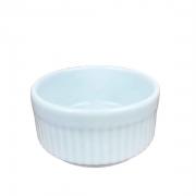 Ramekin de Porcelana refratário, Branco de 50ml