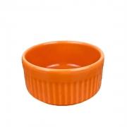 Ramekin de Porcelana refratário, Laranja de 50ml