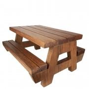 Snack Table, mesinha para lanche em madeira, 31 cm