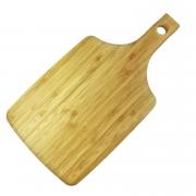 Tábua p/ Servir ou p/ Corte em Bambu c/ Alça 38cm