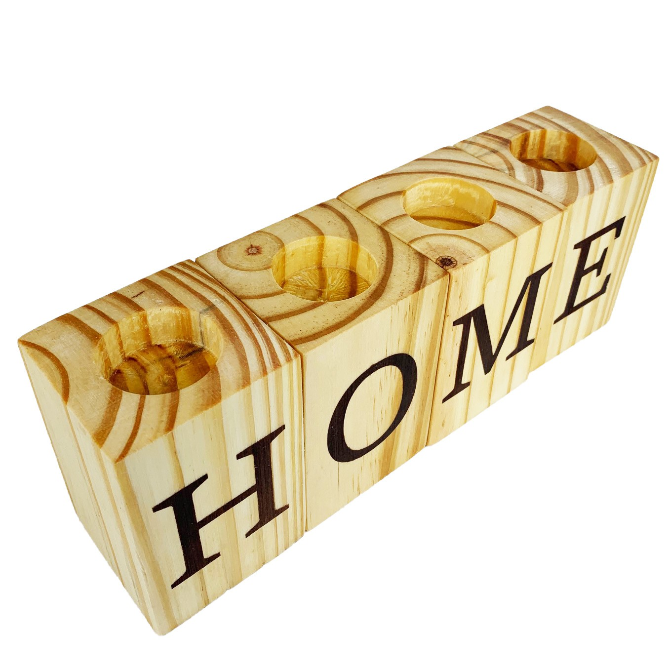 4 Bloquinhos Porta Velas Home