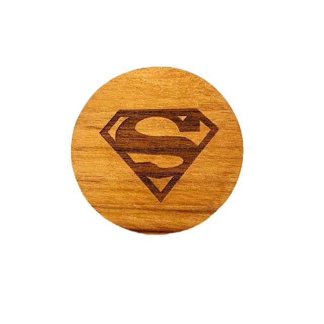 Argola Superman Madeira